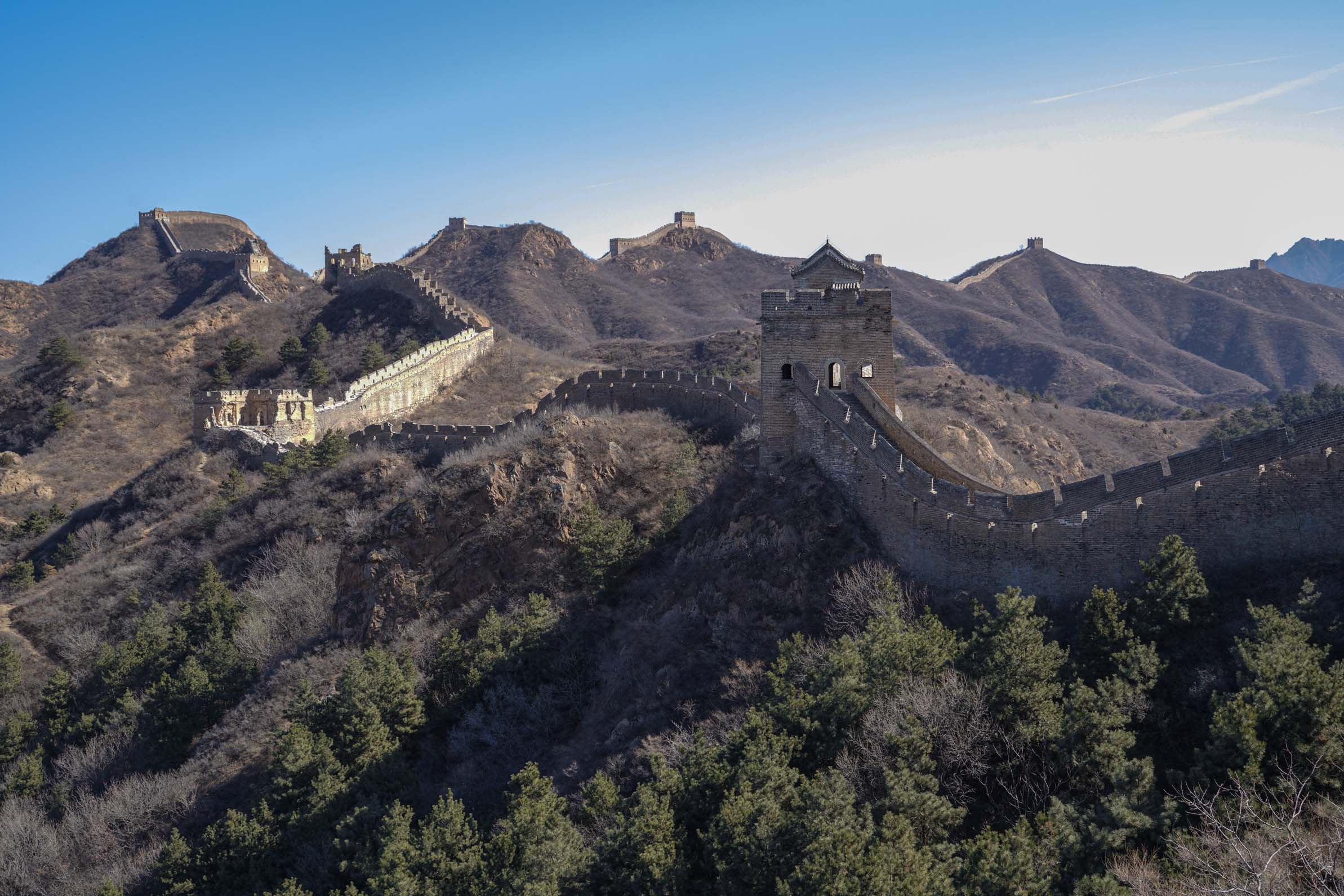 Great Wall Of China Hike March 2018 W Beijing Chengdu On The